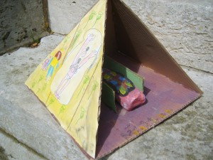 Sarcophage Mélaine 7 ans
